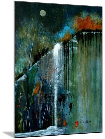 Night Falls A-Ruth Palmer-Mounted Art Print