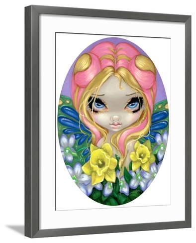 A Little Bit of Spring-Jasmine Becket-Griffith-Framed Art Print