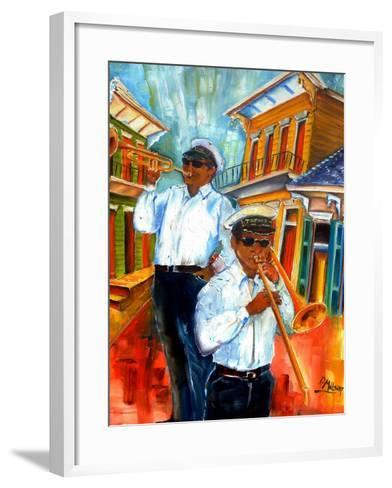 Jazz in Treme-Diane Millsap-Framed Art Print