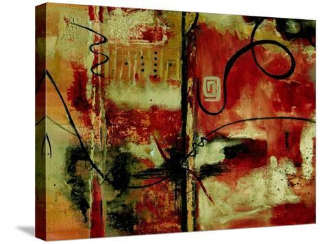 Crimson and Copper II-Ruth Palmer-Stretched Canvas Print