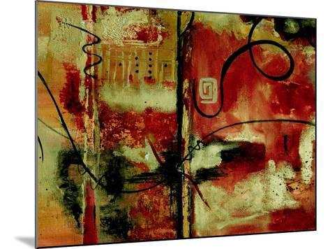 Crimson and Copper II-Ruth Palmer-Mounted Art Print
