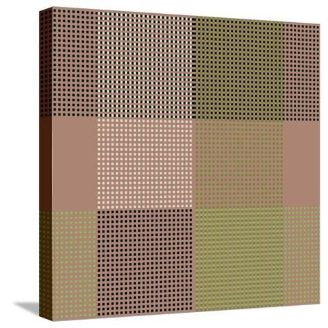 All Squared Away II-Ruth Palmer-Stretched Canvas Print