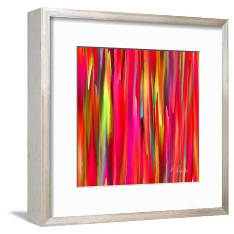 Cracks And Folds-Ruth Palmer-Framed Art Print