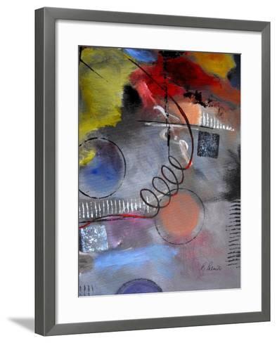Roller Derby III-Ruth Palmer-Framed Art Print