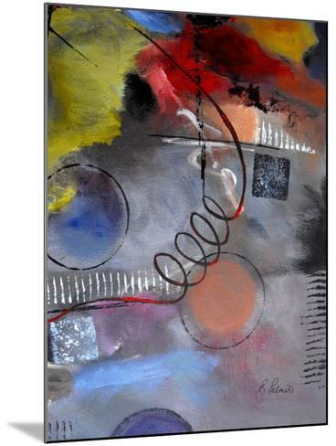 Roller Derby III-Ruth Palmer-Mounted Art Print
