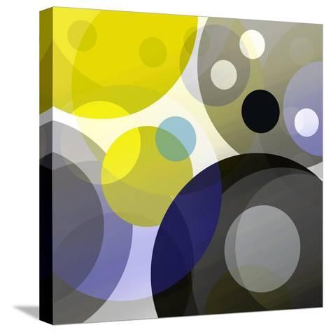 Circular Madness II-Ruth Palmer-Stretched Canvas Print