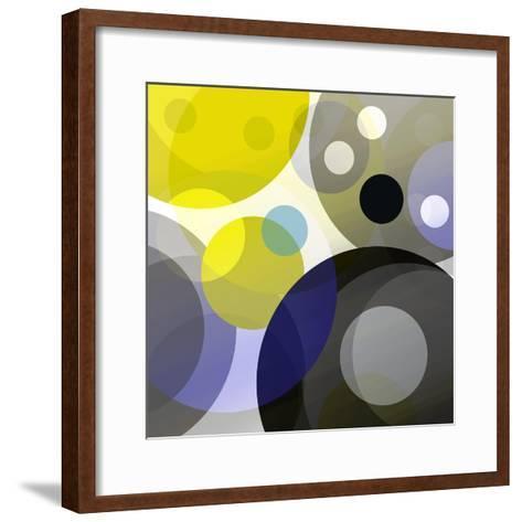 Circular Madness II-Ruth Palmer-Framed Art Print