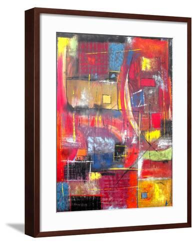 The Climb-Ruth Palmer-Framed Art Print