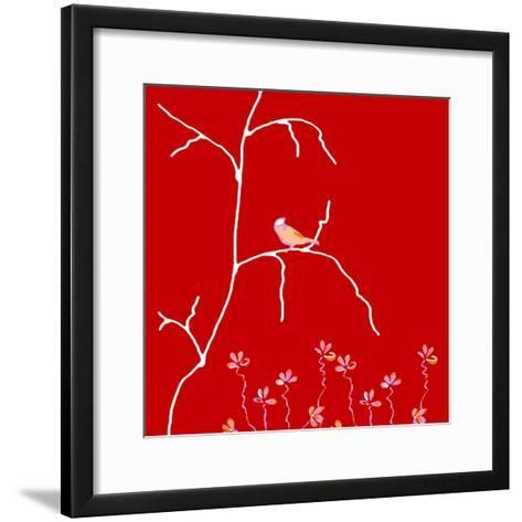 Alone But Never Lonely-Ruth Palmer-Framed Art Print