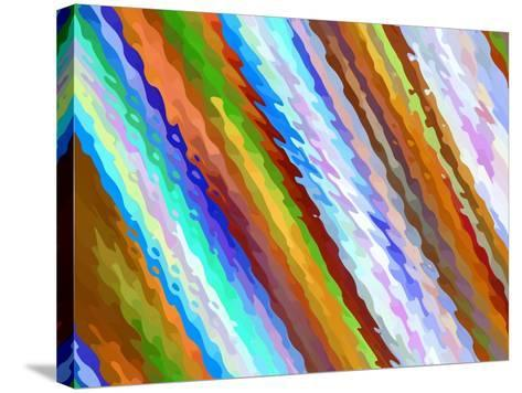 To The Left-Ruth Palmer-Stretched Canvas Print