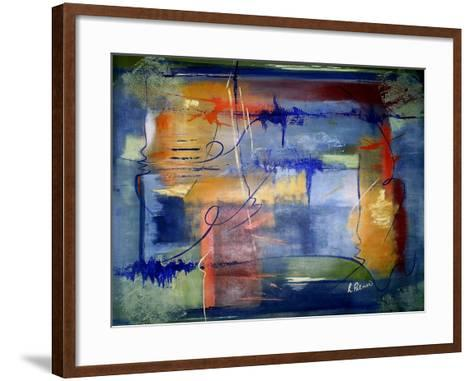 Getting In The Groove-Ruth Palmer-Framed Art Print