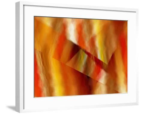 Warm And Wavy-Ruth Palmer-Framed Art Print