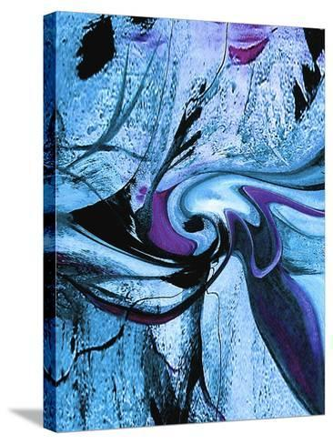 Cool Blue-Ruth Palmer-Stretched Canvas Print