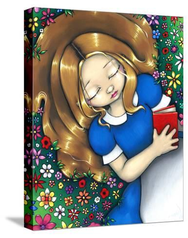 Alice in Wonderland :  Alice Dreaming-Jasmine Becket-Griffith-Stretched Canvas Print