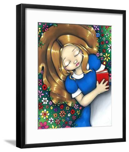 Alice in Wonderland :  Alice Dreaming-Jasmine Becket-Griffith-Framed Art Print