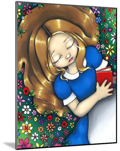 Alice in Wonderland :  Alice Dreaming-Jasmine Becket-Griffith-Mounted Art Print