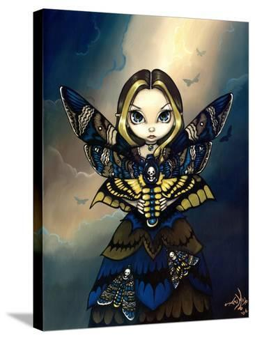Moth Queen Fairy:   Acherontia atropos-Jasmine Becket-Griffith-Stretched Canvas Print