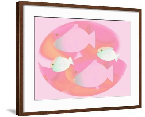 In the Pink-Ruth Palmer Digital-Framed Art Print