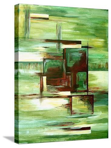 Sections-Ruthie Digital Abstract-Stretched Canvas Print