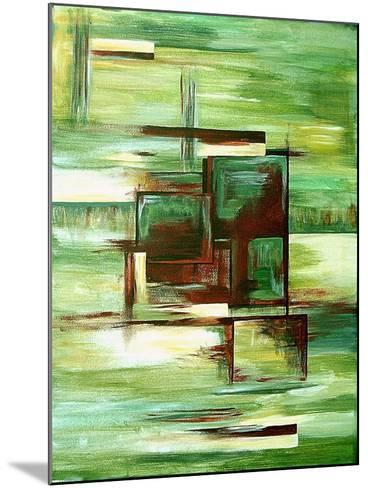 Sections-Ruthie Digital Abstract-Mounted Art Print