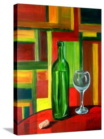 The Bottle is Empty-Ruth Palmer-Stretched Canvas Print