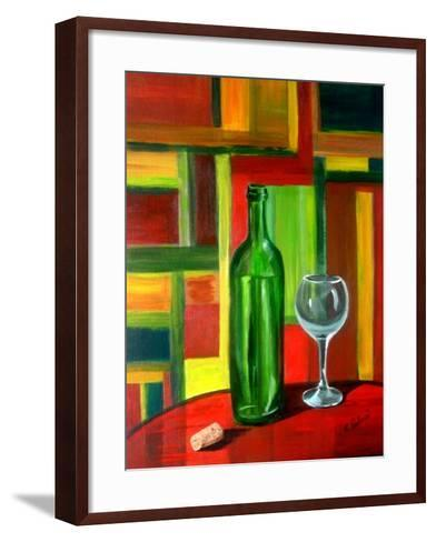 The Bottle is Empty-Ruth Palmer-Framed Art Print
