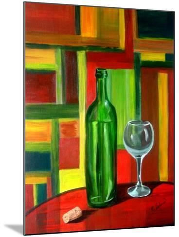 The Bottle is Empty-Ruth Palmer-Mounted Art Print