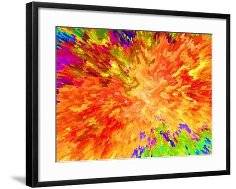 Color Detonation-Ruth Palmer 3-Framed Art Print