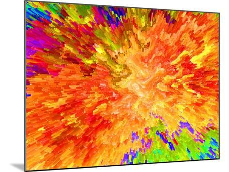 Color Detonation-Ruth Palmer 3-Mounted Art Print