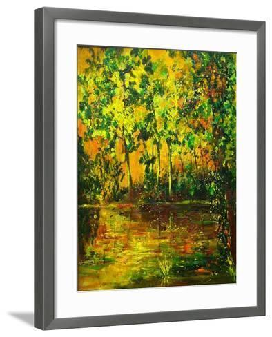 Pond-Pol Ledent-Framed Art Print