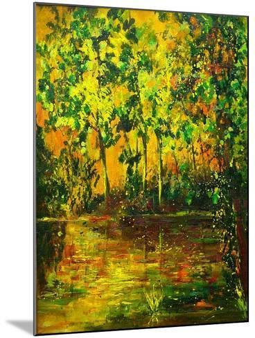 Pond-Pol Ledent-Mounted Art Print
