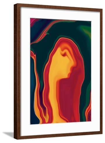 Girl Next Door-Rabi Khan-Framed Art Print