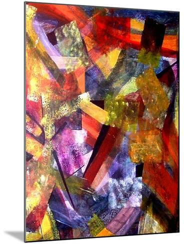 Festivities Revisited 1-Ruth Palmer-Mounted Art Print