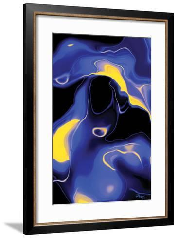 Enigma-Rabi Khan-Framed Art Print