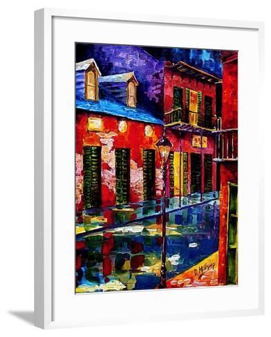 French Quarter Color-Diane Millsap-Framed Art Print
