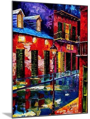 French Quarter Color-Diane Millsap-Mounted Art Print