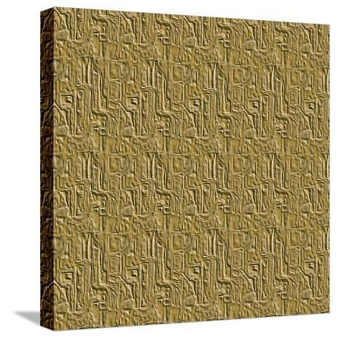 Gold Embossed Tile-Ruth Palmer-Stretched Canvas Print