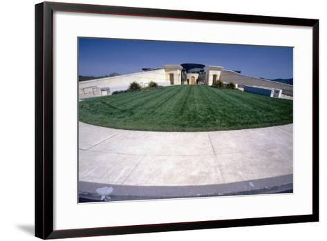 Opus One Winery Building, Napa Valley, CA-George Oze-Framed Art Print