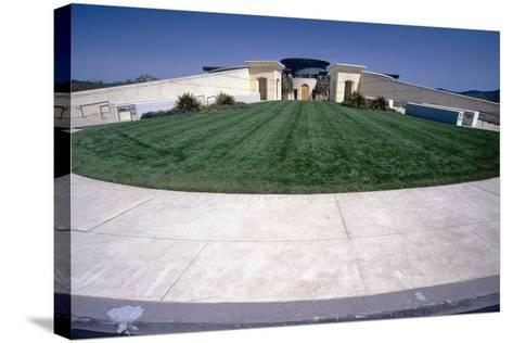 Opus One Winery Building, Napa Valley, CA-George Oze-Stretched Canvas Print