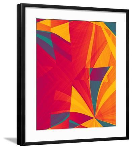 Sectional Fusion II-Ruth Palmer-Framed Art Print