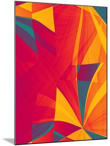 Sectional Fusion II-Ruth Palmer-Mounted Art Print