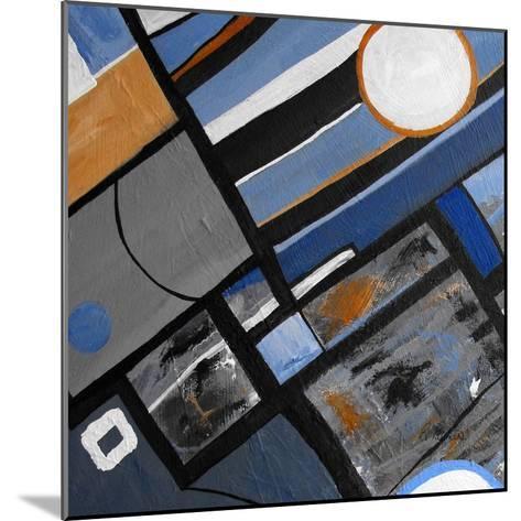 Got The Blues II-Ruth Palmer-Mounted Art Print
