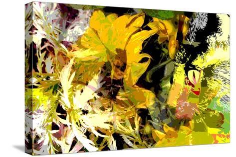 Sunflower Series Garden Variety Cat-Ruth Palmer-Stretched Canvas Print