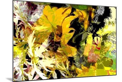 Sunflower Series Garden Variety Cat-Ruth Palmer-Mounted Art Print