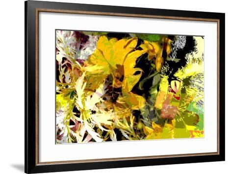 Sunflower Series Garden Variety Cat-Ruth Palmer-Framed Art Print