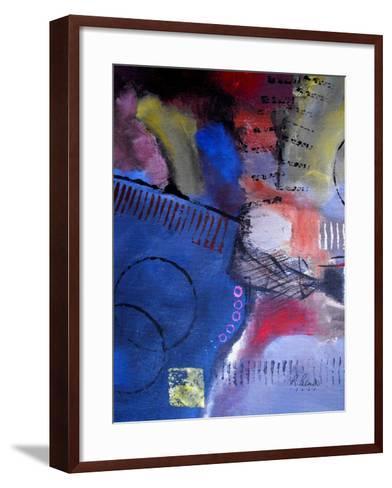 Roller Derby II-Ruth Palmer-Framed Art Print