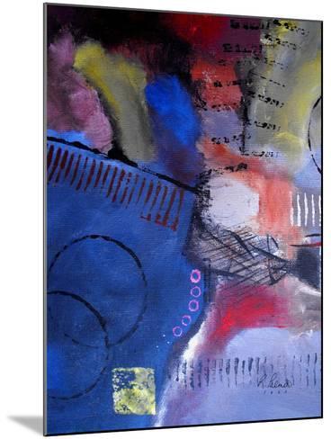 Roller Derby II-Ruth Palmer-Mounted Art Print