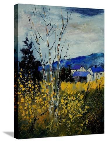 Spring Ardennes 450140-Pol Ledent-Stretched Canvas Print