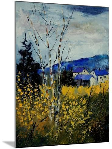 Spring Ardennes 450140-Pol Ledent-Mounted Art Print