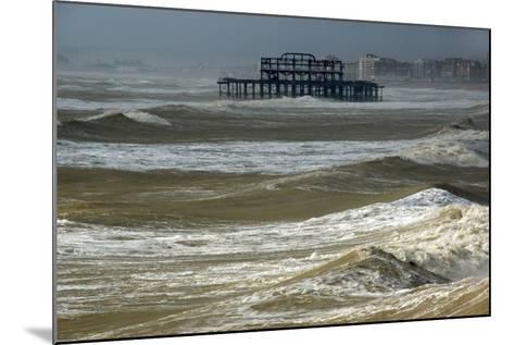 Brighton Storm-Charles Bowman-Mounted Photographic Print
